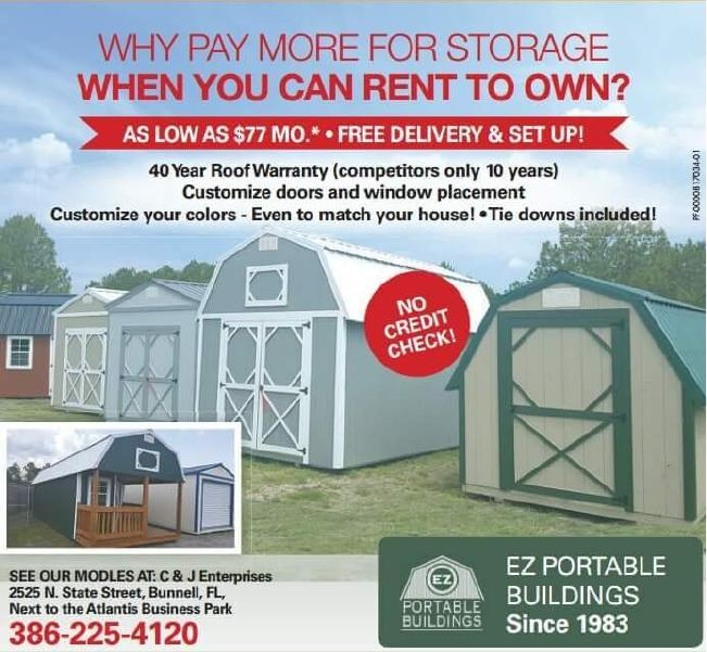 Rent To Own Sheds 77 Mo See The Best Sheds Palm Coast Fl