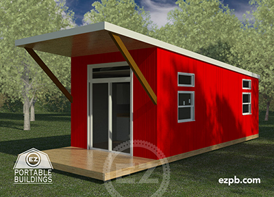 The Austin 1 bedroom tiny house in Palm Coast, Florida