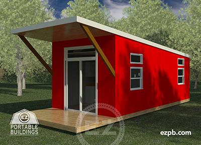 The Austin 1 bedroom tiny house in Palm Coast, Florida