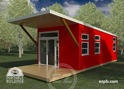 The Austin 2 bedroom tiny house in Palm Coast, Florida