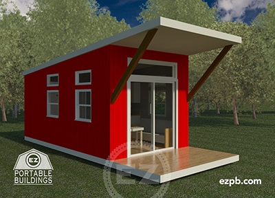 The Austin Studio tiny house in Palm Coast, Florida