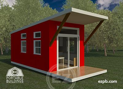 The Austin Studio tiny house in Palm Coast, Florida
