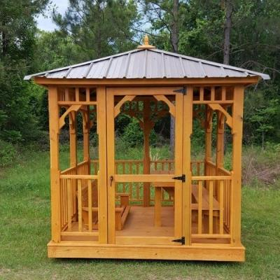 Shed installation in Bunnell, FL